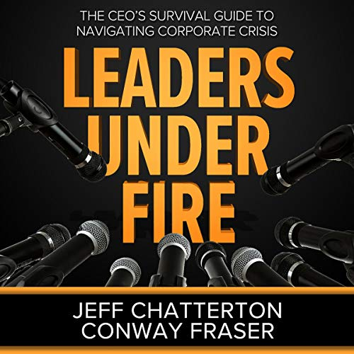 Leaders Under Fire audiobook cover art