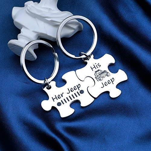 Couple Keychain OIIIIIIIO Keychain Wrangler Owner Jewelry Gift for Her Him (OIIIIIIIO PKR)