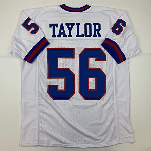 Unsigned Lawrence Taylor New York White Custom Stitched Football Jersey Size Men's XL New No Brands/Logos