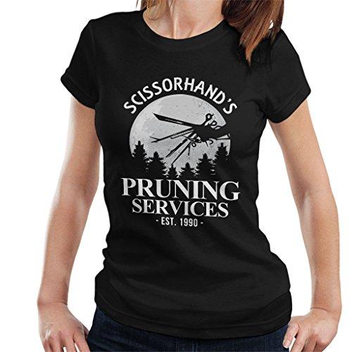Cloud City 7 Edward Scissorhands Pruning Services Women's T-Shirt