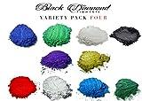 BLACK DIAMOND PIGMENTS バラエティパック4(10色)マイカパウダーピュア 2TONEシリーズバラエティ顔料パック(エポキシ 塗料 色 アート)