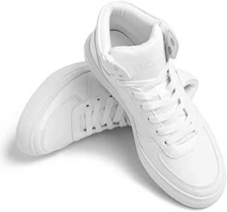 Leather Sneakers Fashion Dress Sneakers Business Casual Shoes for Men Women