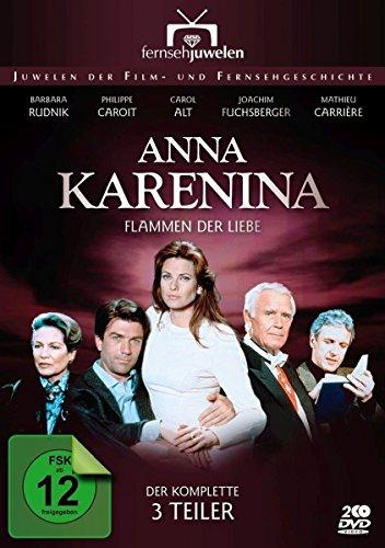 Anna Karenina - Flammen der Liebe - Der komplette Dreiteiler (Fernsehjuwelen) [2 DVDs]