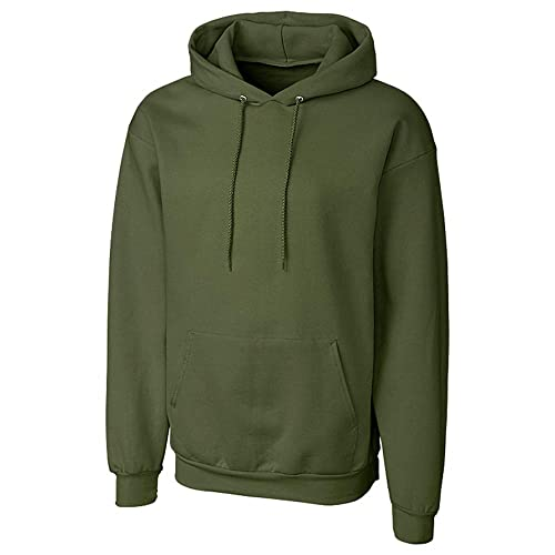 2102f26f Clique Men's Comfortable Fleece Pullover Hoodie