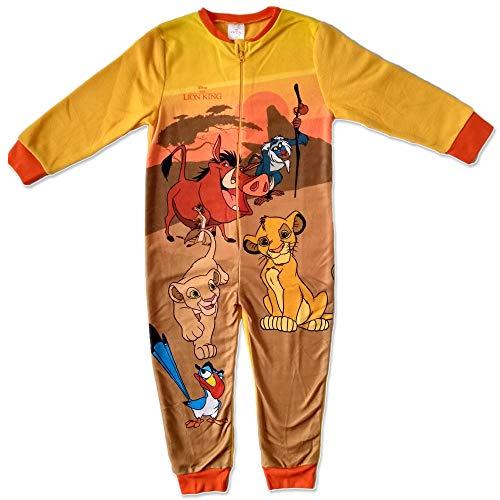 Pijama de Forro Polar para niño con Rey León