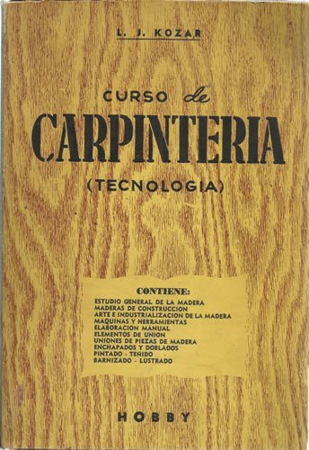 CURSO DE CARPINTERÍA (TECNOLOGÍA)