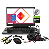 HP OMEN 15 Gaming Laptop, 15.6' IPS FHD, Intel 6-Core i7-10750H up to 5.0 GHz, NVIDIA GTX 1660 Ti, 16GB RAM, 1TB SSD, RGB KB, Thunderbolt 3, WiFi 6, Mytrix Accessories ,Win 10