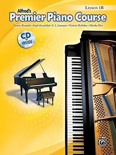 Premier Piano Course Lesson Book, Bk 1b: Book & CD