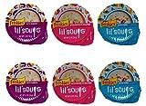 Friskies Lil' Soups Adult Cat Food Complement 3 Flavors 6...