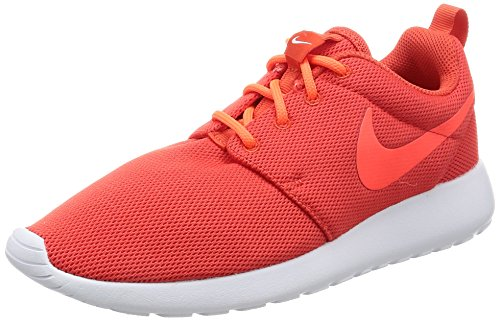 Nike Wmns Roshe One, Zapatillas Mujer, Naranja (MAX Orange/Total Crimson/White), 39 EU