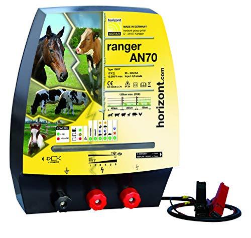 Horizont Weidezaungerät Elektrozaungerät Ranger AN70 - 12, 230 Volt