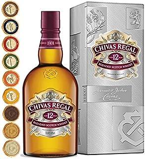 Chivas Regal 12 Jahre Scotch Whisky  9 Edel Schokoladen in 9 Sorten