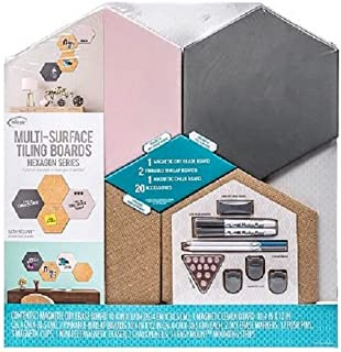 Multi-Surface Tiling Boards Hexagon Series Rose
