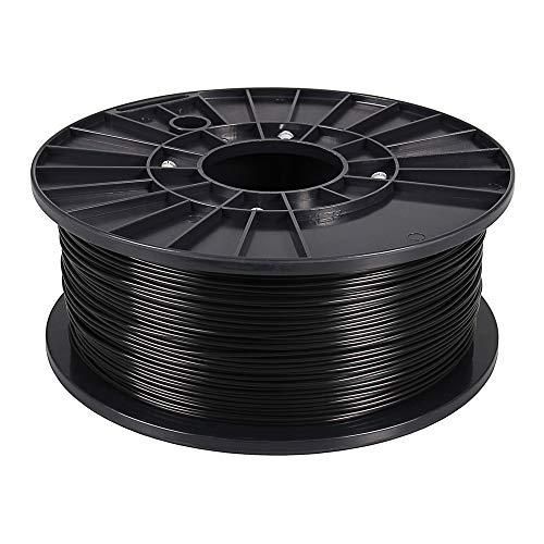 3D Drucker Filament ABS Schwarz 1 kg 1,75 mm Spule Rolle für 3D-Drucker oder Stift in Vakuumverpackung premium Qualität BIO Spool 1.75mm Printer 1kg ARLI weitere Farbe