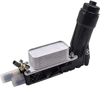 Ensun Engine Oil Cooler Housing Filter fit for 2011-2013 Chrysler Dodge Jeep 3.6L V6 Engine 5184294AE