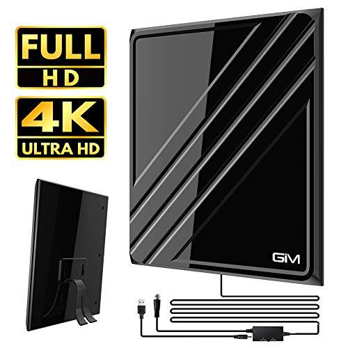 GIM TV Antenna for Digital TV Indoor $9.98 (33% Off)