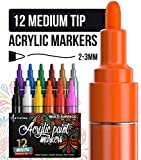 Best Graffiti Markers - Permanent Paint Markers for Glass painting, Ceramic, Porcelain Review