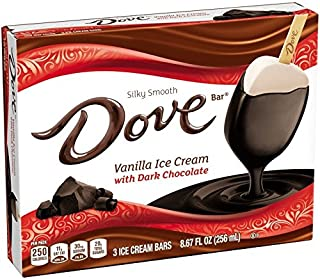 DOVEBAR 3-Pack Vanilla/Dark Chocolate (6 Count)