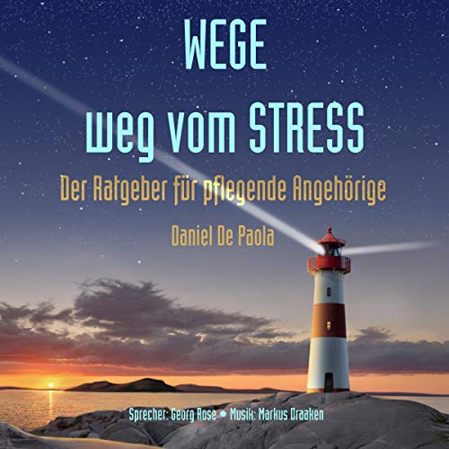 Wege weg vom Stress audiobook cover art