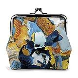 Gemälde Kunst abstrakte Frauen 'S Brieftasche Schnalle Münze Geldbörse Tasche Kisslock Reise Make-up Brieftaschen