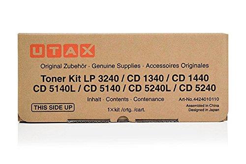 Original Utax 4424010010/4424010110, für LP 3240 Premium Drucker-Kartusche, Schwarz, 15000 Seiten