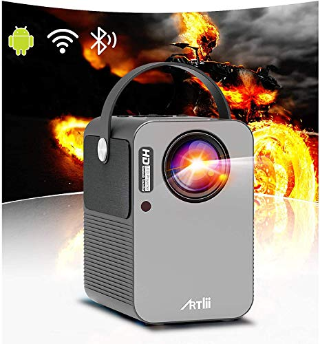 Videoprojecteur WiFi Android 9.0- Artlii Play, Projecteur Intelligent...