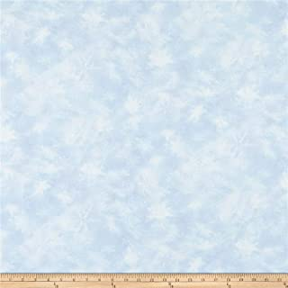 Hoffman Fabrics Digital Call Of The Wild Winter Snowflakes Snow Fabric Fabric by the Yard