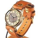 渡辺工房 手作り腕時計 手作り腕時計 JSB Rev 逆回転(受注制作) [NW-JUM38REV] (キャメル)