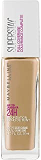 Maybelline New York Super Stay Full Coverage Liquid Foundation Makeup, Golden Caramel, 1 Fl Oz