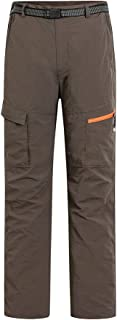 comprar comparacion Baymate Pantalón De Montaña para Hombre Al Aire Libre De Respirable Pantalones De Camping Estiramiento