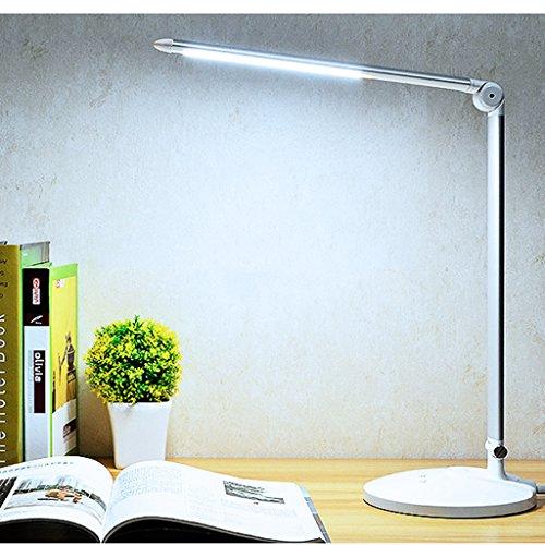 Lampe de table F Lampe de bureau LED 10W Lecture, Lampe de chevet, Commutateur tactile, Gradable, Série: MT-3677, Rotary