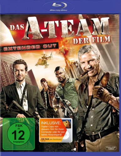 Das A-Team - Der Film - Extended Cut  (+ Digital Copy Disc) [Blu-ray]
