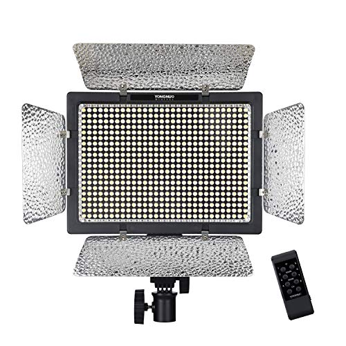 Yongnuo YN-600L II 600 LED Video Studio Photography Lampada Luce Regolabile temperatura di colore 3200K-5500K per Canon Nikon Sony DSLR con Wireless Controller