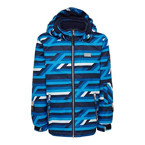 Lego Wear Jungen Lego Tec Play LWJORDAN 723 - Skijacke/Winterjacke Jacke,per Pack Blau (Blue 553),116 (Herstellergröße:116)