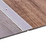 Gedotec Übergangsprofil Aluminium Boden-Leiste zum Schrauben Übergangs-Schiene für Fußböden |...