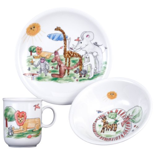 Seltmann Weiden  001.654545 Kinder-Set 3-tlg. Compact Zoo