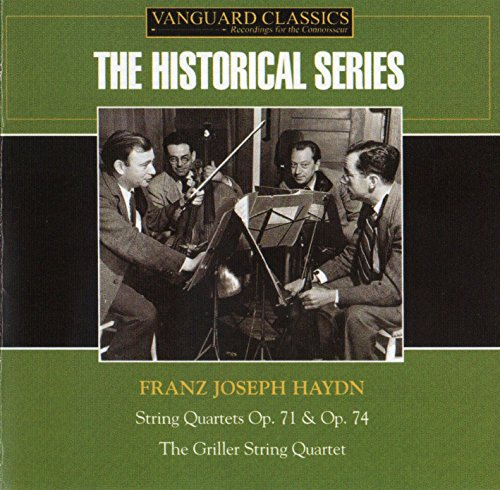 Haydn: Streichquartette Op.71 & 74