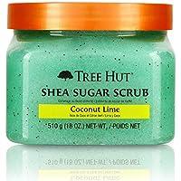 Tree Hut Shea Coconut Lime Sugar Scrub, 18 Ounce