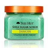 Tree Hut Shea Sugar Scrub, Coconut Lime, 18 Ounce (Pack of 3) coconut oil for skin and hairs May, 2021