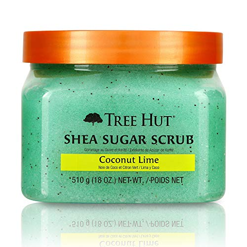Tree Hut Shea Sugar Scrub, Coconut Lime, 18 Ounce
