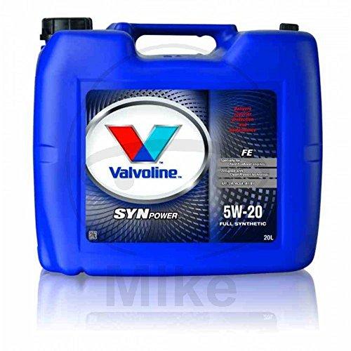 Motoröl 5W20 FE 20 Liter Valvoline SYNPOWER