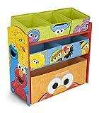 Delta Children 6-Bin Toy Storage Organizer, Sesame Street