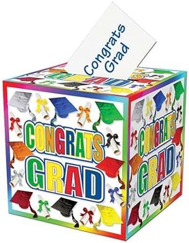 Graduation Card Box 12 . x 12 . Pkg of 12 Mehrfarbig