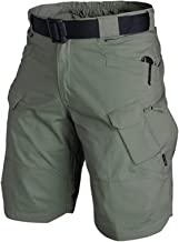 Delisouls 2021 Upgraded Waterdichte Shorts, heren Cargo Shorts, heren fietsbroek, Relaxed Fit Waterbestendig werk wandelen...