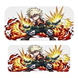 My Hero Academia-Bakugou Katsuki Sticker for Switch Protector Cover Protective Faceplate Full Set Console Dock for Switch/Switch lite
