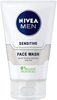 Nivea M-SC-1007 Sensitive Face Wash by Nivea for Men - 5 oz Face Wash