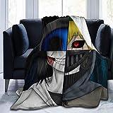 XCNGG Jeff The Killer Ultra Soft Micro Fleece Throw Blanket Edredón Ligero para sofá Dormitorio Oficina Viajes 60 'X50