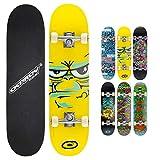 Osprey Skateboard Double Kick Pro. Monopatín infantil doble patada, plataforma 79cm de arce, ideal para niños...