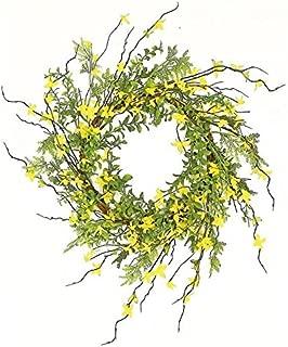 forsythia wreaths wholesale