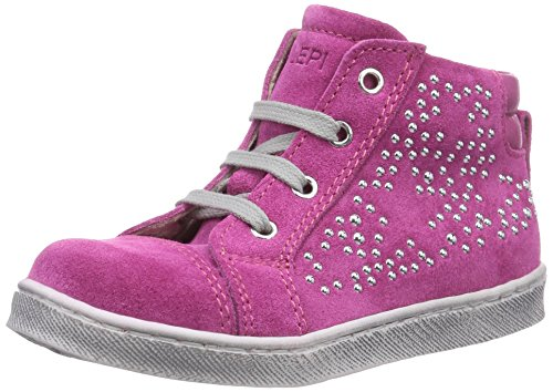 Lepi Baby Mädchen 3309LEQ Lauflernschuhe, Pink (3309 C.03 FUXIA), 24 EU